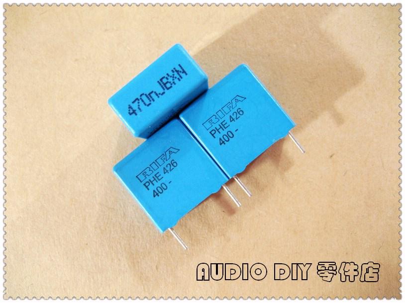 2PCS/10PCS RIFA PHE426 Series 0.47uF 400V 400v0.47uf 5% MKP Film Capacitor (470nF 474)