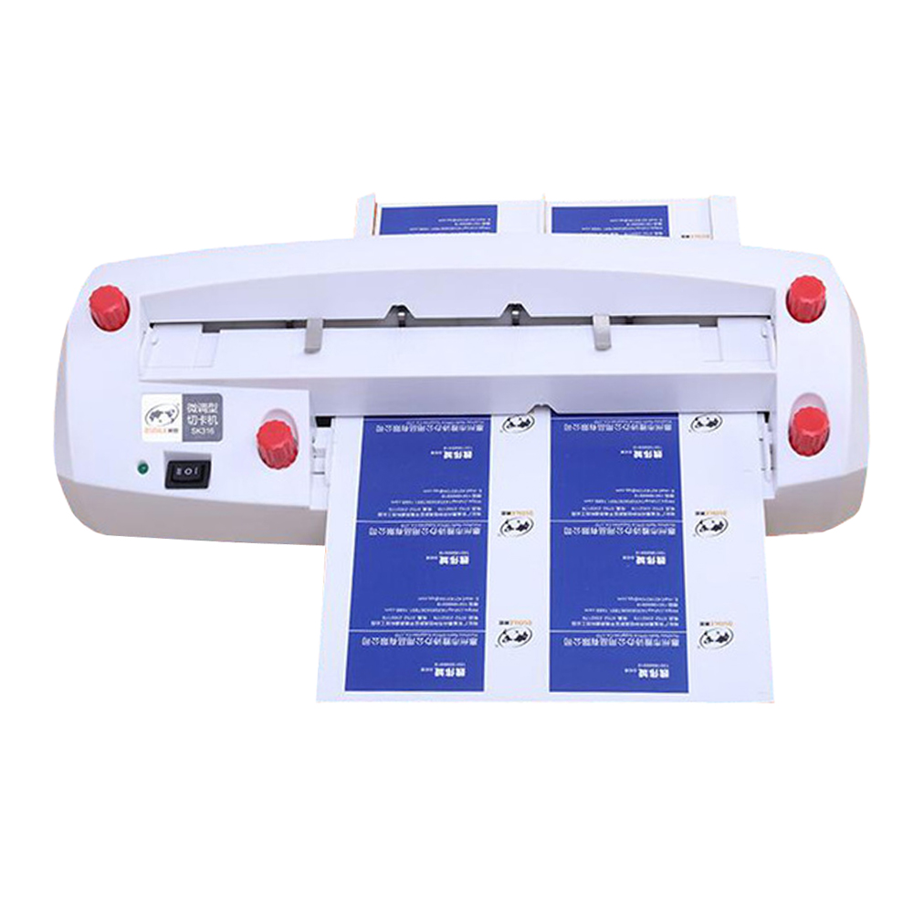 Automatic Name Card Slitter Name Card Cutter A4 Size Business Card Cutting Machine Cut Card Machine 90*54MM Specifications стоимость
