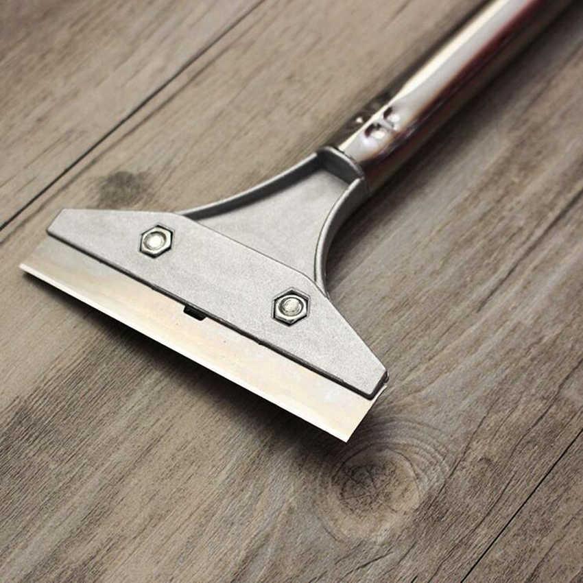 Piso Telhas de aço inoxidável Pintura Handheld Removedor Raspador com Lâmina de Limpeza Ferramentas