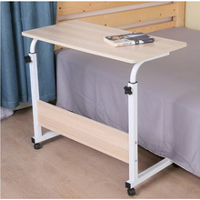 250301/Lazy bedside laptop desk / home bed with simple desk / folding mobile small desk/Wearable PU roller