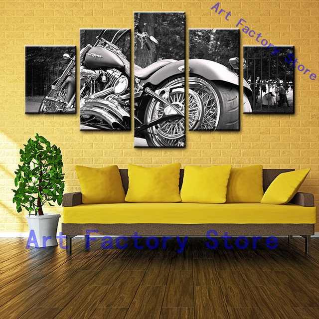 Canvas Wall Art Pictures Home Decor Movie Game HD Modern Printed 5 ...