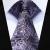 """TZP03P8 Púrpura Paisley 3.4 """"de Seda lazo de Los Hombres Corbata y Gemelos Conjunto"""
