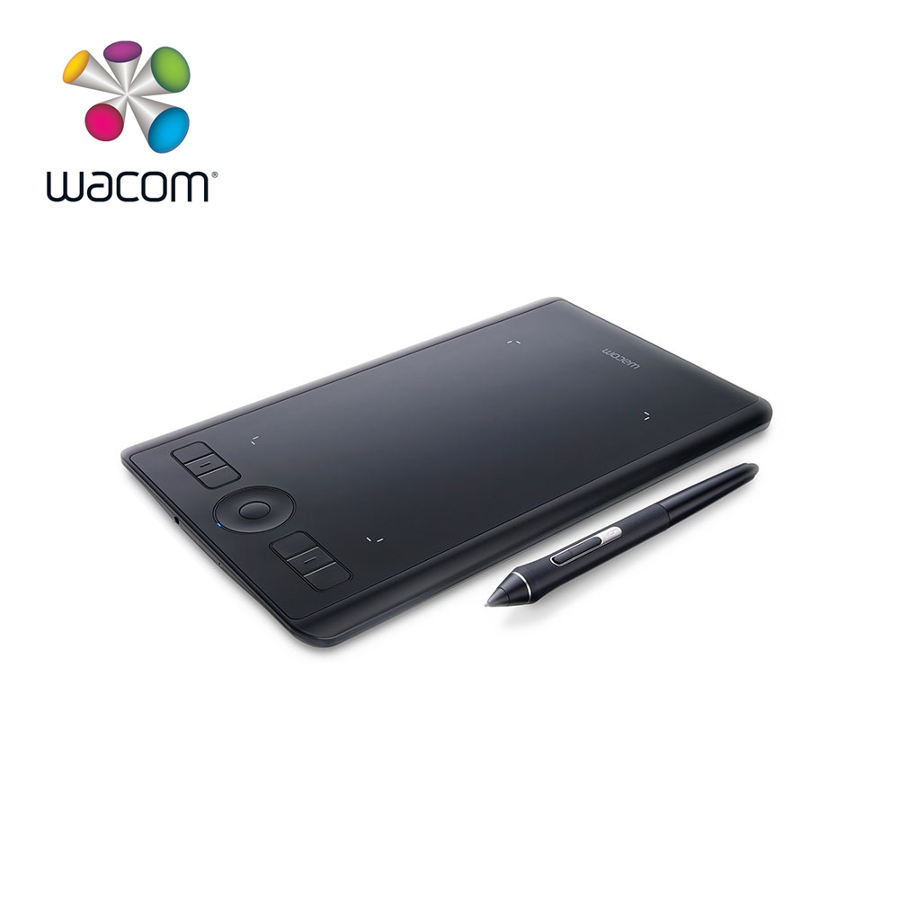 Wacom Intuos Pro Creative stylo tablette graphique dessin tablettes (PTH-460 petit) 8192/multi-touch/sans fil Bluetooth