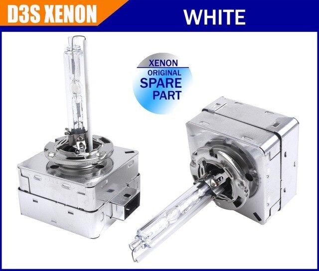 2 pcs/lot D3S Xenon Bulb all metal original quaity 12V 35W car headlight replacement D3S D3C HID Xenon Lamp 4300k 5000K 6000k