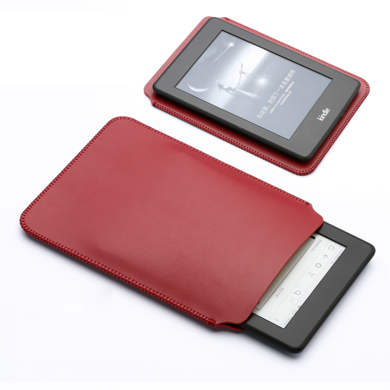 Tablet Sleeve Bag For 6' E-book PU Leather Amazon Kindle Paperwhite 1 2 3 Case Suiting Cover For Kindle 8 th Voyage E-reader