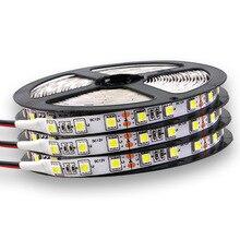 DC 12V 5050 LED Strip Waterproof Led Light 60 Pcs / M Suitable for Garden Villa Living Room Bedroom multiple color