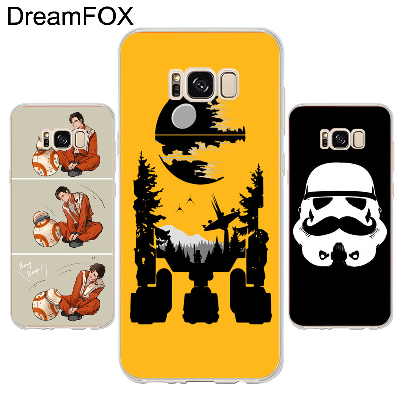 DREAMFOX K162 R2d2 On Endor Soft TPU Silicone Case Cover For Samsung Galaxy Note S 3 4 5 6 7 8 9 Edge Plus Grand Prime
