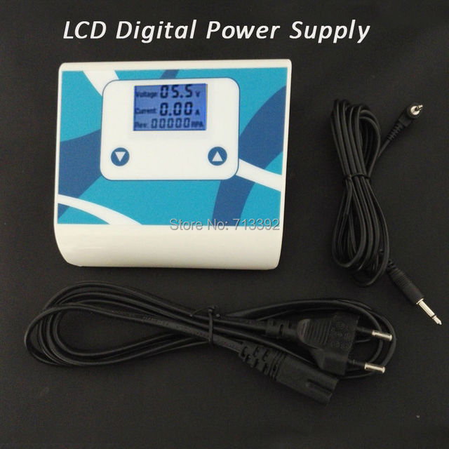 Professional Digital LCD Power Supply For Eyebrow LIps Machine Tattoo Machine