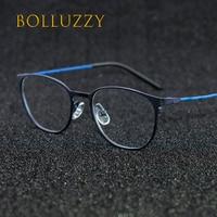 Men women degree eyeglasses frame golden eyewear optical prescription eyeglasses frame 9358 special big design brand ultra light