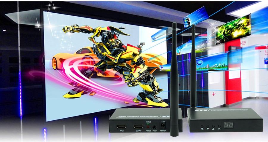 DT211W 200ft Wireless HDMI Splitter Extender Transmitter 1080P Wireless HDMI Video Audio Sender Receiver 60m With