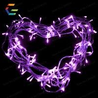 100 LED 10 M Chuỗi Tiên Lights Giáng Xmas Garland Home Trang Trí Wedding Party Trang Trí Đầy Màu Sắc Màu Xanh Hồng Màu Vàng Trắng