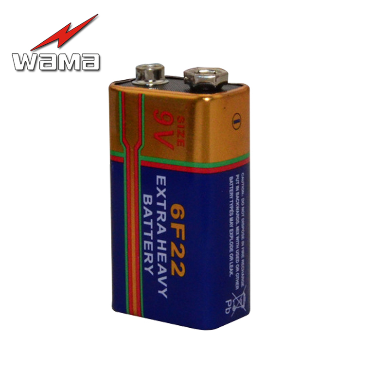 30x WAMA 6F22 1604D Battery 9V Layer-built Laminated Primary Dry Batteries for Alarm Wireless Microphone New