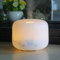 300ML Aromatherapy Essential Oil Diffuser Aroma Humidifier With Waterless Auto Shut Off And 7 Colors Changing
