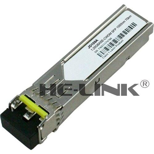 JD109A-X170 1000BASE-LH70 CWDM SFP 1550nm 80km transceiver (Compatible with HP)JD109A-X170 1000BASE-LH70 CWDM SFP 1550nm 80km transceiver (Compatible with HP)