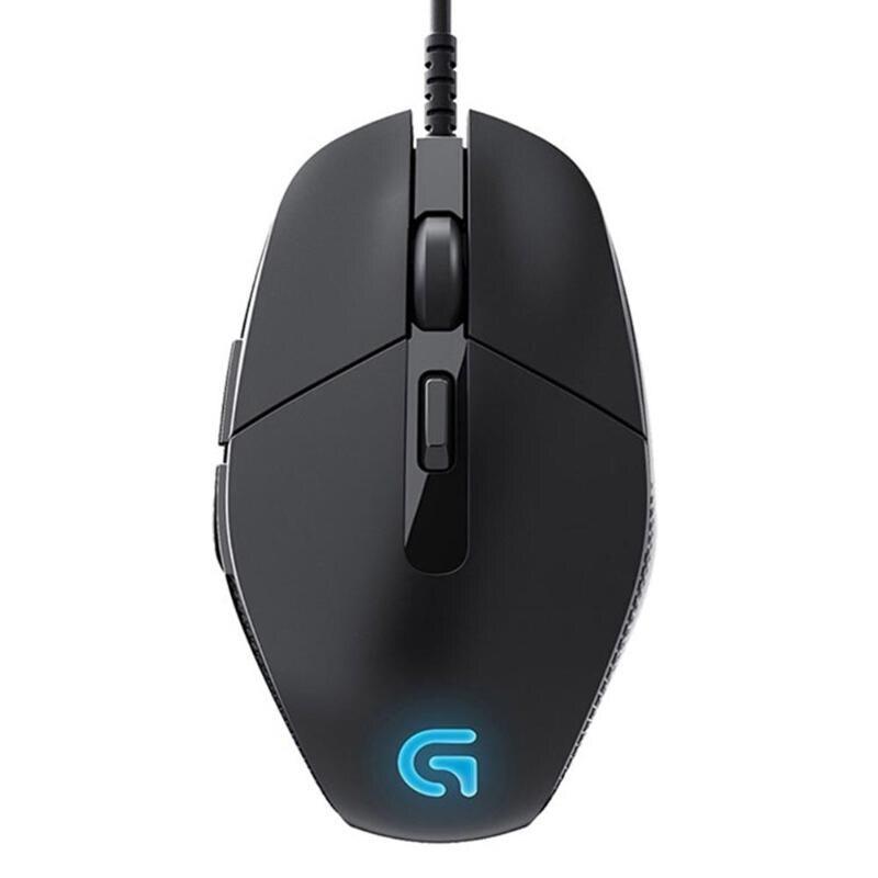 Logitech G302 USB filaire souris de jeu 4000 DPI 6 boutons main droite souris Gamer pour PC ordinateur portable souris