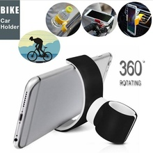 360 Degrees Universal Air Vent Mount Bicycle Car Cell Phone Holder Stands For GPS Mobile