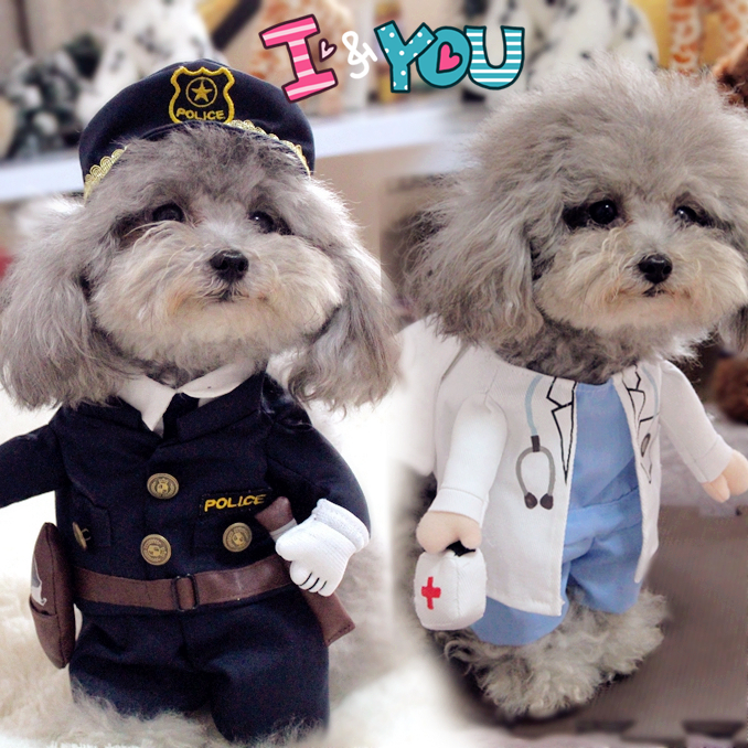 Various Funny Pet Costume Dog Cat Costume Cat Clothes Sexy Nurse Policeman Cowboy Sailor Uniform Hat Business Attire-in Cat Clothing from Home u0026 Garden on ... & Various Funny Pet Costume Dog Cat Costume Cat Clothes Sexy Nurse ...