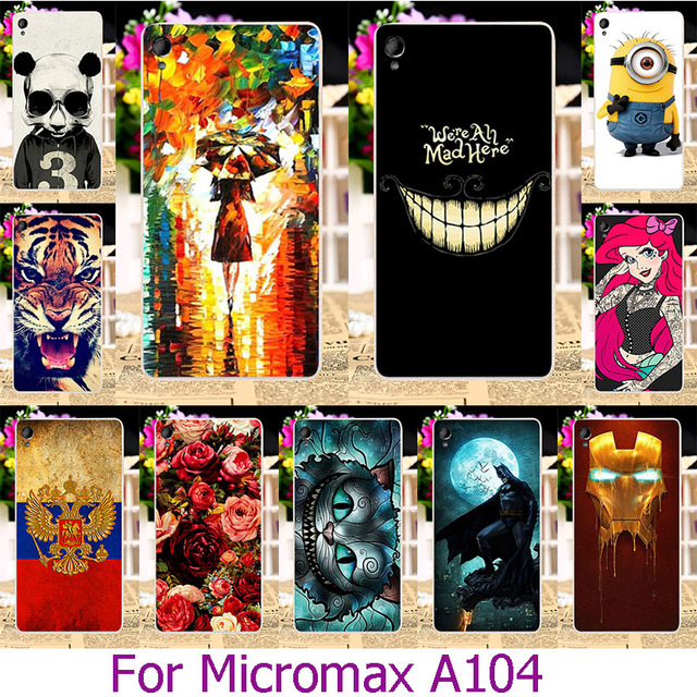 AKABEILA Soft TPU Case For Micromax A104 Canvas Fire 2 Fire2 4.5 INCH Case Cover Housing Cover Protector sheath