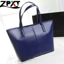 5 Color High Quality Leather Women handBags Tote Shopping Use Casual Big PU Bag Fashion Female Bags Wholesale