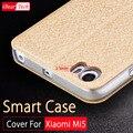 Xiaomi mi5 funda de couro do caso da aleta de luxo pu mofi xiaomi originais xiomi m5 mi5 coque pro m5 mi5 pro capa celular casos