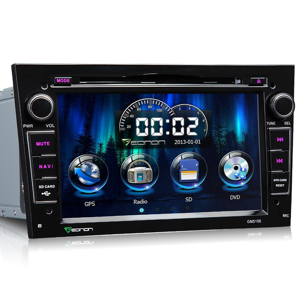 eonon 7 39 39 2 din car dvd player gps stereo for opel vectra. Black Bedroom Furniture Sets. Home Design Ideas