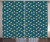 Windrad Vorhänge Windrad in Grafik Muster Spielzimmer Kindergarten Baby Sommer Spaß Spielt Darstellung Wohnzimmer Schlafzimmer Fenster