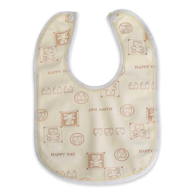 אקראי סגנון תינוק סינר קטיפה עמיד למים תינוק טיפול האכלת הדפסת ליקוק מגבת תינוק רוק מגבת