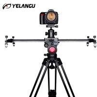 YELANGU DSLR Camera Track Dolly Slider Video Stabilization Rail System for Nikon Canon Sony Stabilizing Movie Film Video Making