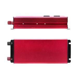 Image 3 - 4000W güneş güç inverteri sinüs dalgası LED 4 USB DC12/24V AC110V/220V dönüştürmek