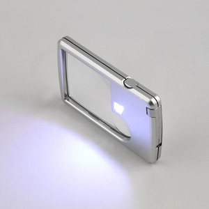 3X 6X Magnifier Credit Card Ey