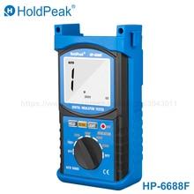 HoldPeak 6688F Digita Insulation Resistance Tester Resistance Meters 250V/500V/1000V/2500V Megger Megohmmeter Voltmeter цена в Москве и Питере
