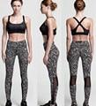 Yoga Pants Women Leggings Running Sports Jogging Tights Yoga Fitness Workout Pants Black White Print Dot snowflake Trousers