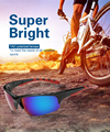 Coolsir Eyewear Sunglasses MTB Outdoor Sports Protective uv400 Glasses Goggles Prizm gafas ciclismo sun glasses Retail packaging