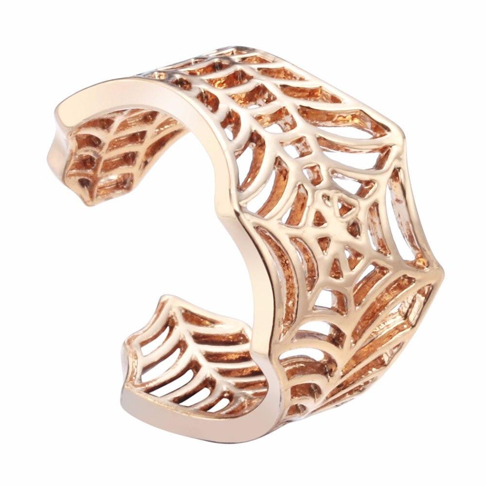 30PCS Cute Stretch <font><b>Ring</b></font> Spiderweb <font><b>Ring</b></font> <font><b>Spiderman</b></font> Unique Jewelry Fashion <font><b>Rings</b></font> for women Gift