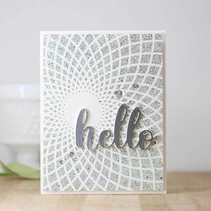 Sunshine Style трафарет для скрапбокинга, сделай сам, бумажная карточка, для фото, для рукоделия, тиснение, шаблон, украшение, Embellissement