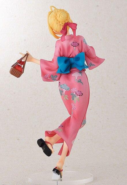 Аниме фигурка Сайбер в кимоно 22 см 3