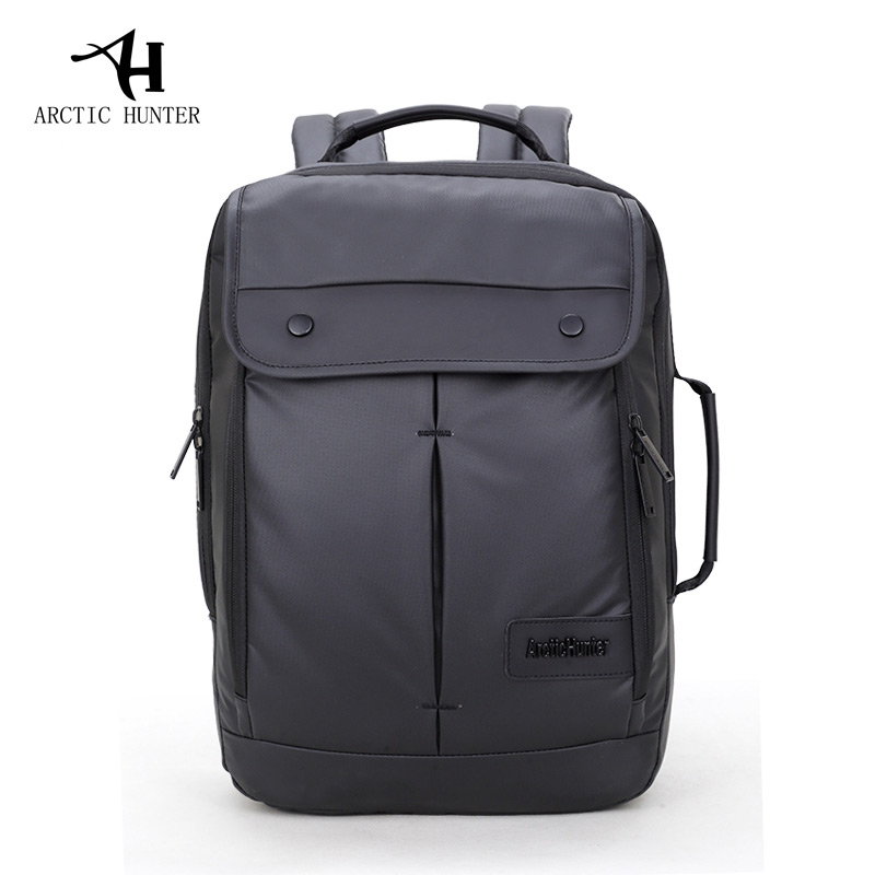 ARCTIC HUNTER Waterproof Cover Business Backpack Business Bag For College Simple Design Men Casual Laptop Bag Computer Backpack casual waterproof simple men backpack