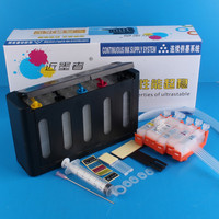 Universal 5Color Continuous Ink Supply System CISS kit with full accessaries bulk ink tank for CANON IX6560 IX6570 Printer CISS