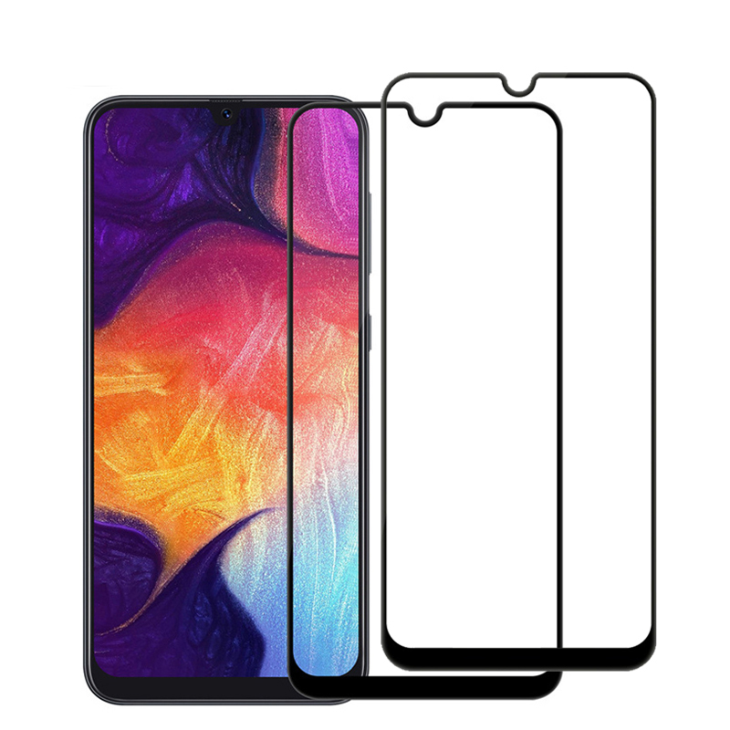 2Pcs-Tempered-Glass-for-Samsung-Galaxy-A50-A30-A40-9H-Screen-Protector-For-Samsung-A30-A50
