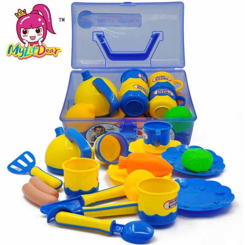 Mylitdear 18pcs Set Kids Toys House