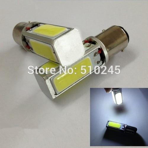 10x White high power 20W COB 1156 P21W S25 auto LED Interior Fog Brake Parking backup Bulbs Light Lamp Free shipping