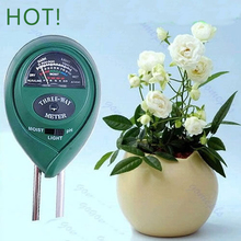 3 in1 Flowers Plant Soil PH Tester Moisture Light Meter hydroponics Analyzer H02