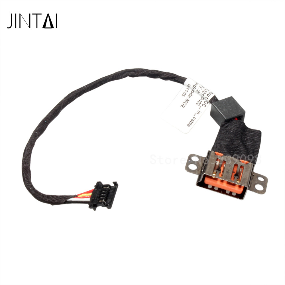 100% NEW Jintai DC AC POWER JACK SOCKET CONNECTOR W/ CABLE For Lenovo Thinkpad Yoga 3 14 DC30100P400 5C10H35647 1 piece 5 5 2 5 2 in 1 ac adapter dc output jack charger power supply converter cable for lenovo yoga thinkpad x1 l3fe ma 085