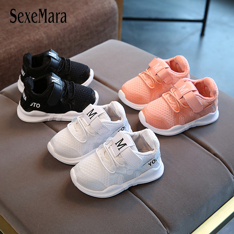 Baby Causal Shoes Breathable Sneakers Toddler Boys Breathable Girls Sports Shoes Newborn Children Footwear Baby Mocassin B12114
