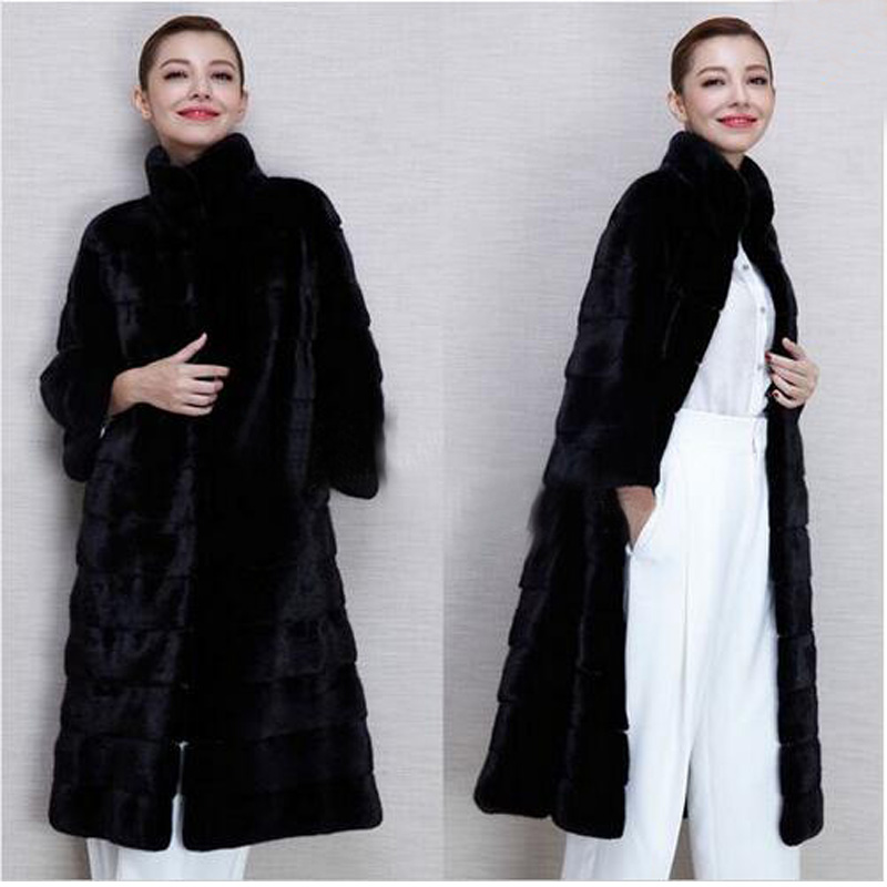 Compare Prices on Long Black Fur Coat- Online Shopping/Buy Low ...