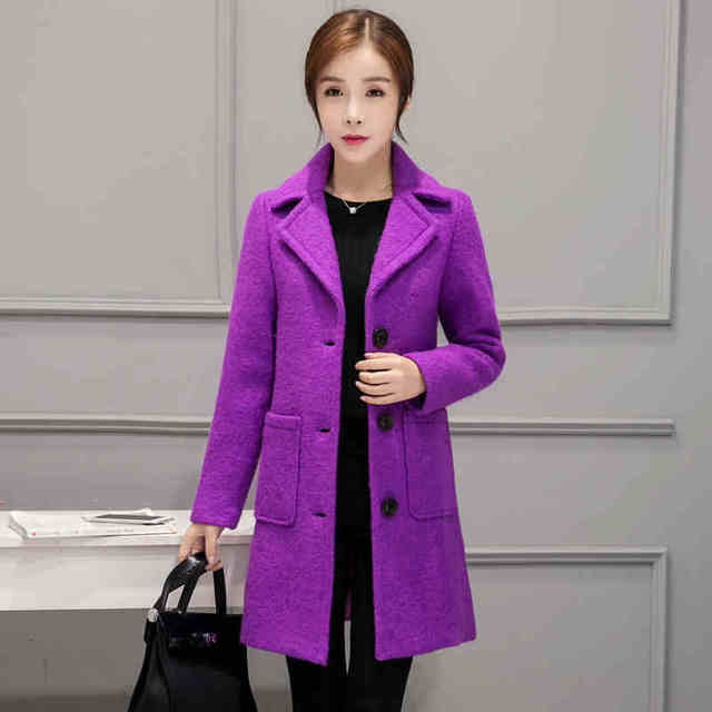 Wol Jaket Musim Dingin Baru Korea Perempuan Diri Budidaya Wol Tebal Menolak  Wanita Kerah Kecil Warna 6b0f8a0dcf