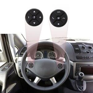 Image 5 - אוניברסלי רכב הגה DVD GPS אלחוטי חכם כפתור מפתח שלט רחוק