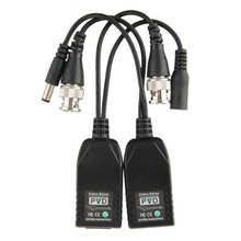 Pair Transmitter Receiver Cable UTP RJ45 Passive Video Balun for CCTV Camera