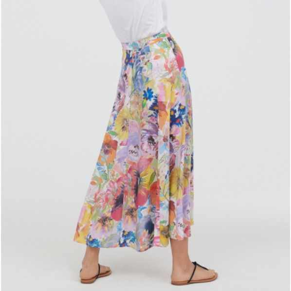ZA 2019 Spring and Summer New Women's Print A-line Casual Skirt