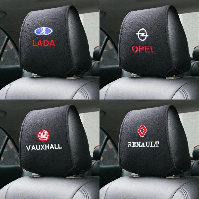 1pcs Car Headrest Set Of Auto Case For Dacia Opel Renault Mazda Abarth Lada Vauxhall Dacia Mitsubishi Daewoo Ssangyong Greatwall